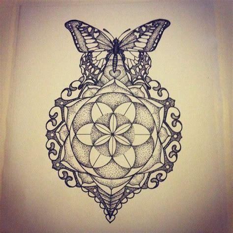 mandala butterfly tattoo poisk  google tatu