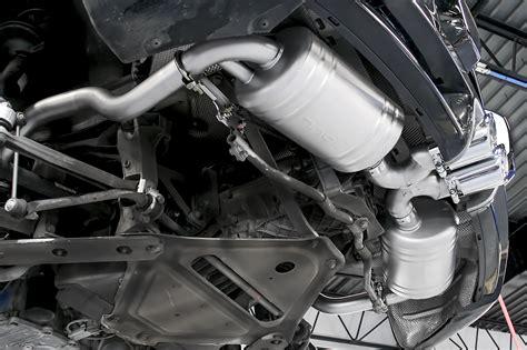 porsche  boxster cayman performance exhaust system