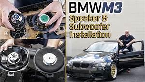 Full Car Audio System And Speaker Installation