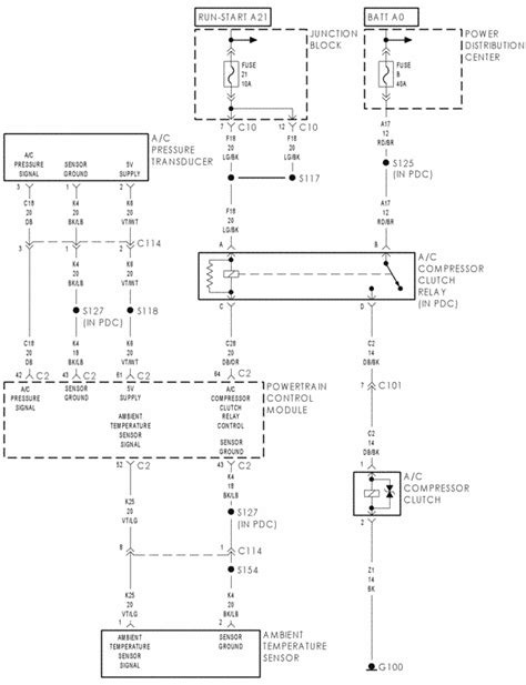 07 Dodge Ram Wiring Schematic by I Am Working On A 2001 Dodge Intrepid 2 7 The Ac