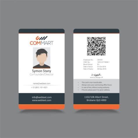 id card templates  psd eps ai ms word
