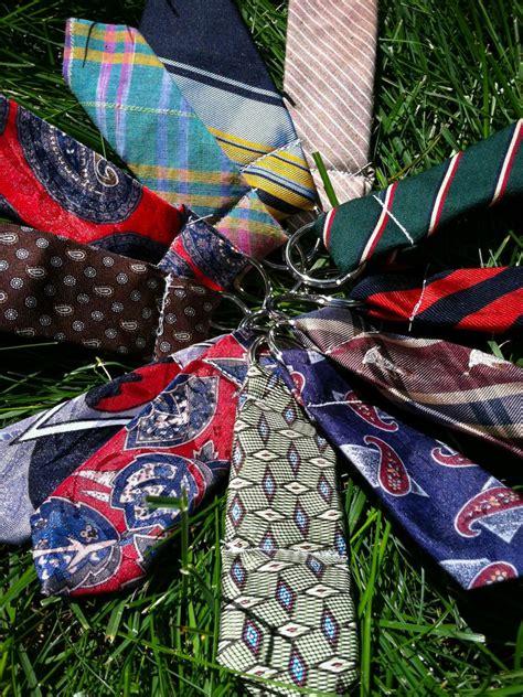 ways  upcycle  neckties diy