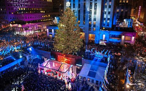 when does christmas start in new york get a look at this year s rockefeller center tree travel leisure