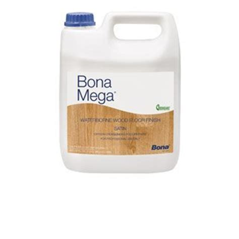 bona floor finish application bona mega wood floor finish satin 1 gallon 737025800635