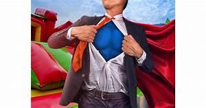Superhero, Challenge, Team, Building, In, Glasgow