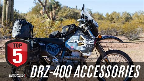 Top 5 Drz 400 Accessories For Adventure Riding