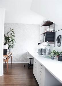 Wand Schreibtisch Ikea : mein arbeitszimmer nun auch gef hlt endlich fertig ikea ~ Lizthompson.info Haus und Dekorationen