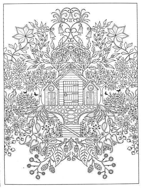adult coloring page secret garden coloring books coloring pages adult coloring books