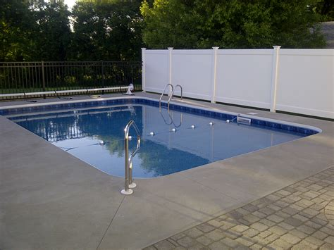 privacy pool fencing 6 ft privacy fence pool poly enterprises