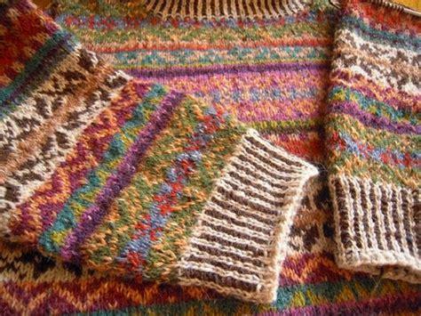 fair isle knitting knit fairisle loppukirin paikka