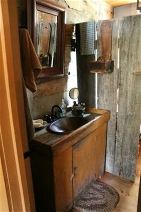 primitive colonial bathrooms on pinterest dry sink