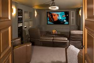 Image of: 10 Awesome Basement Home Theater Idea Basement Design Ideas For Family Room