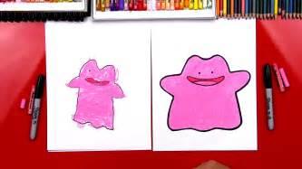 draw ditto pokemon art  kids hub