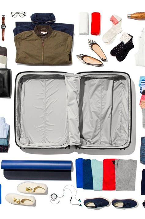 96 Best Packing A Suitcase Images On Pinterest Travel
