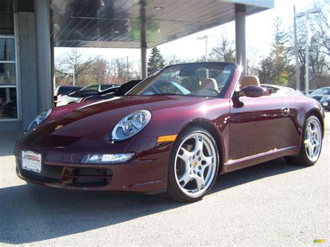 2006 Carmon Red Metallic Porsche 911 Carrera Cabriolet