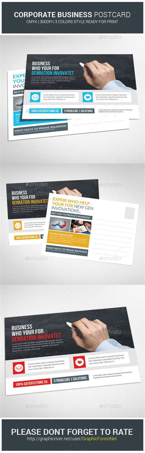 postcard template graphicriver pin by spude on postcard postcard template