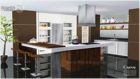 Kitchen Design Ideas Set 2 by My Sims 3 Cayenne Kitchen Set By Simcredible Designs