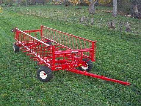 Ez Trail Farm Wagons  Arthur, Il  Products  Bale Wagons
