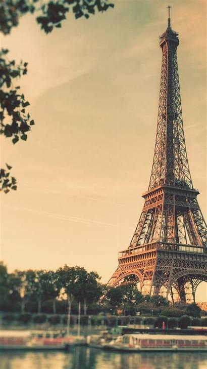 Paris Eiffel Tower Duplicate Boats Wallpapers Mobile