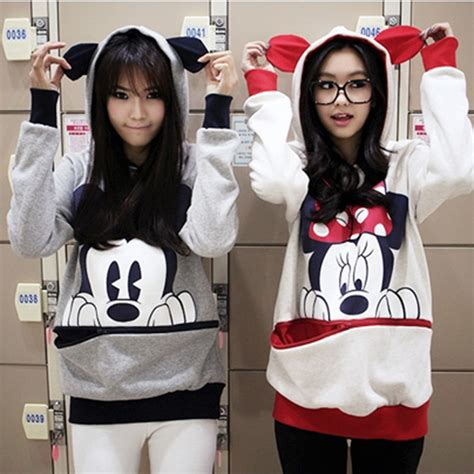 minnie mouse sweater womens womens mickey minnie mouse ear sweater