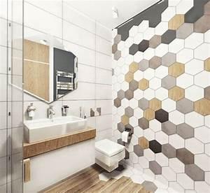 Carrelage Mural Hexagonal : quelles sont les tendances carrelage de 2019 6 incontournables ~ Carolinahurricanesstore.com Idées de Décoration