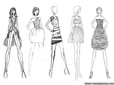 fashion sketch wallpaper wallpapersafari