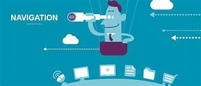 Navigation Easy Website Business Commerce Affects Ways