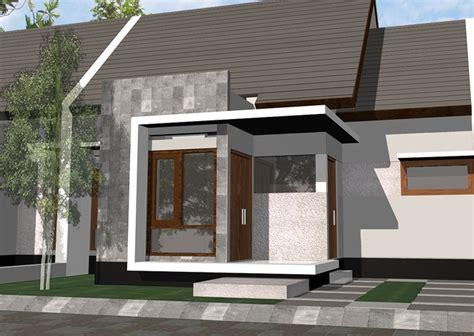 desain teras rumah minimalis type  terbaru
