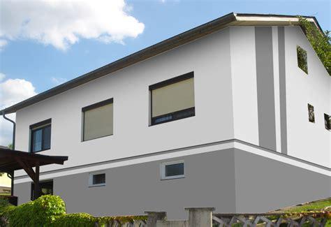 Hausfassade Modern Streichen by Fassadengestaltung Farbgestaltung Architekturfarbe