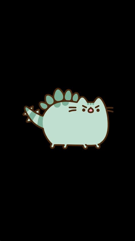 images  pusheen cat wallpaper  pinterest