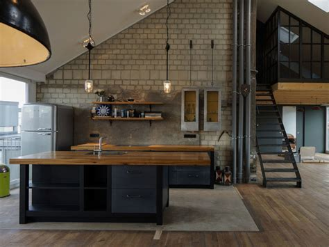 Industrial Kuche by K 252 Chen Industrial Kitchen Berlin By Increart