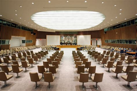 An Unrecognizable Security Council Chamber Norway In The Un