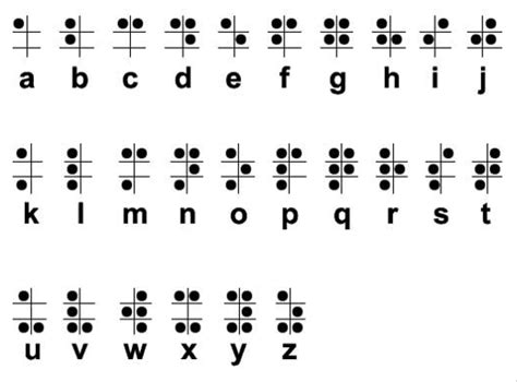 braille alphabet science fest