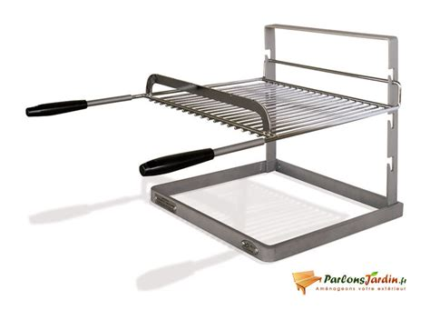 grille et support pour chemin 233 e ou barbecue dtye1092 jardin piscine