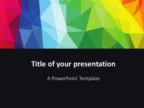 free modern powerpoint templates modern polygons powerpoint template presentationgo