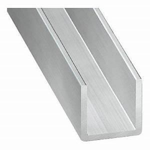 Profilé Inox En U : u alu brut 20 x 25 x 20 mm 2 m castorama ~ Dailycaller-alerts.com Idées de Décoration