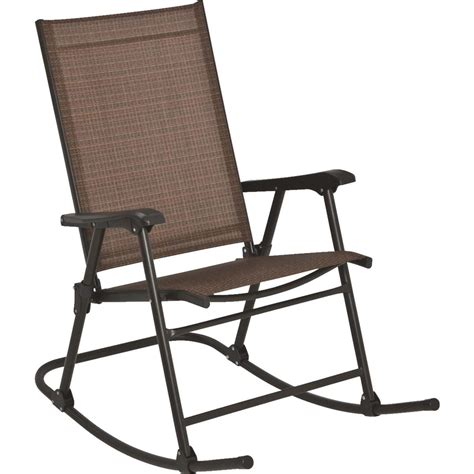 outdoor expressions orleans folding sling rocking chair ebay