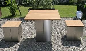 Garten Kiste Holz : garten im quadrat garten hocker aus edelstahl und holz ~ Whattoseeinmadrid.com Haus und Dekorationen
