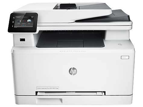 Hp Color Laserjet Pro Mfp M277dw Drivers And Downloads