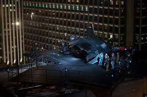 THE BRAND RACKLEY | The Dark Knight Rises Batwing Photos