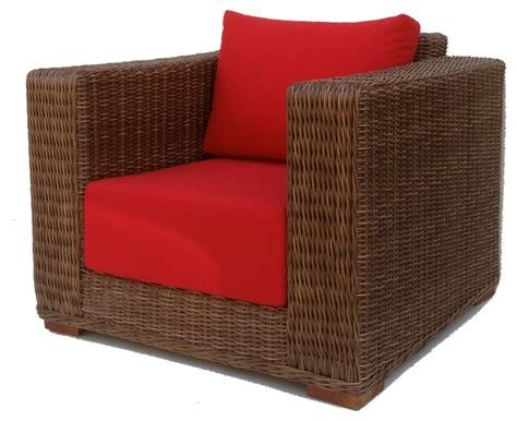 outdoor wicker chair sunbrella cushions patio style