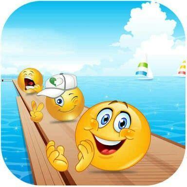emoji smiley fishing smiley gluecklich lustige smileys