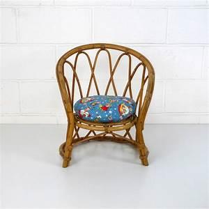 Fauteuil Rotin Enfant : fauteuil enfant rotin vintage la marelle mobilier et d co vintage enfants ~ Teatrodelosmanantiales.com Idées de Décoration