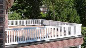 Geländer Für Treppe : gel nder f r balkon terrasse und treppe wei oder ral lackiert ~ Michelbontemps.com Haus und Dekorationen