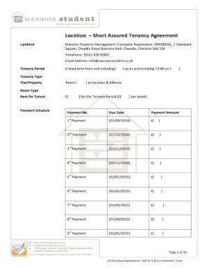 tenancy agreement template uk edit print fill