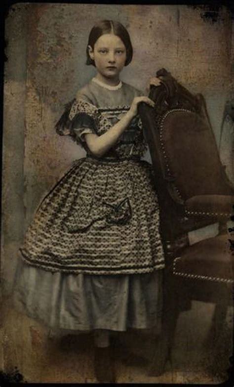 incredible hand tinted   victorian girls