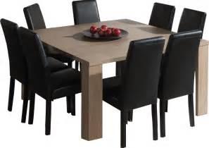 salle a manger table carree table carr 233 e salle 224 manger moderne coloris ch 234 ne ardennes deco interieure