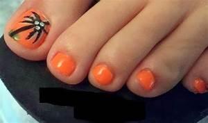 55+ Orange Nail Art Ideas For Girls