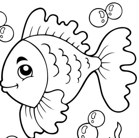 immagini di pesci da colorare e ritagliare disegni di pesci xk37 pineglen