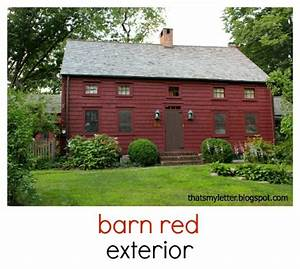 that39s my letter how to paint red gloss paneling white With barn red outdoor paint